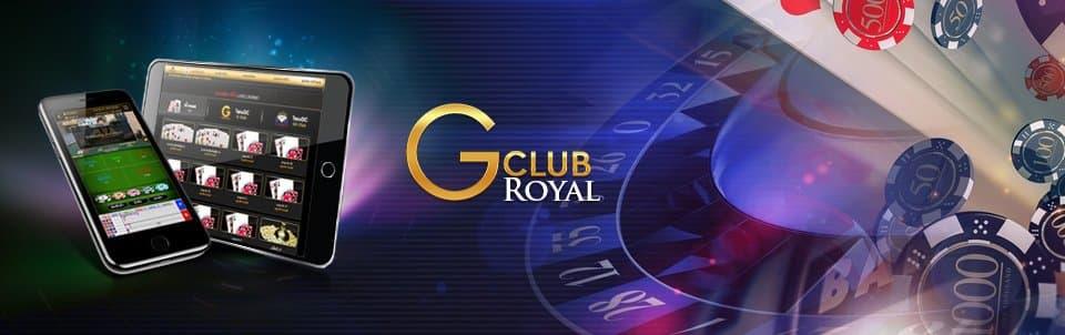 Gclub Royal บริการคาสิโนออนไลน์ บาคาร่า อันดับหนึ่ง 1